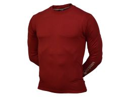 REMERA TERMICA ML COMPRESSION ROJA