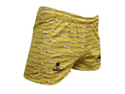 SHORT RUGBEACH YELLOW
