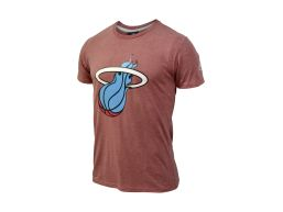 REMERA MC NBA BALON ROSA