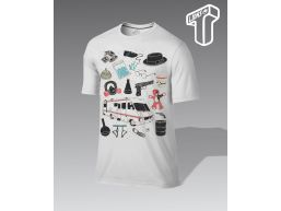 REMERA PERSONALIZADA BREAKING BAD WITHE
