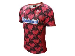 CAMISETA DE JUEGO C4 WELSH RUGBY UNION