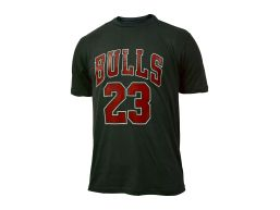 REMERA MC NBA CHICAGO BULLS GRAY