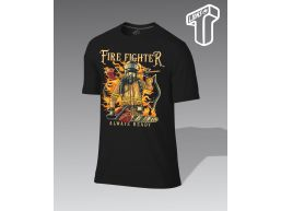 REMERA PERSONALIZADA FIRE FIGHTER