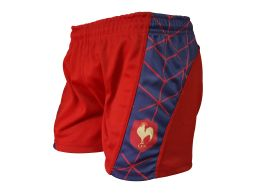 SHORT TEAM PRO PREMIUM LES ROUGE
