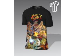REMERA PERSONALIZADA STREET FIGHTER II