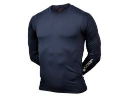 REMERA TERMICA ML COMPRESSION AZUL