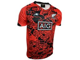 CAMISETA C4 BOYS MAORI EDITION RED