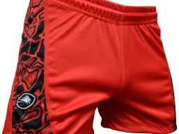 SHORT TEAM PRO MAORI RED